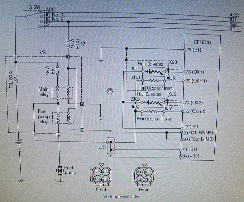 Daihatsu Sirion Wiring Diagram