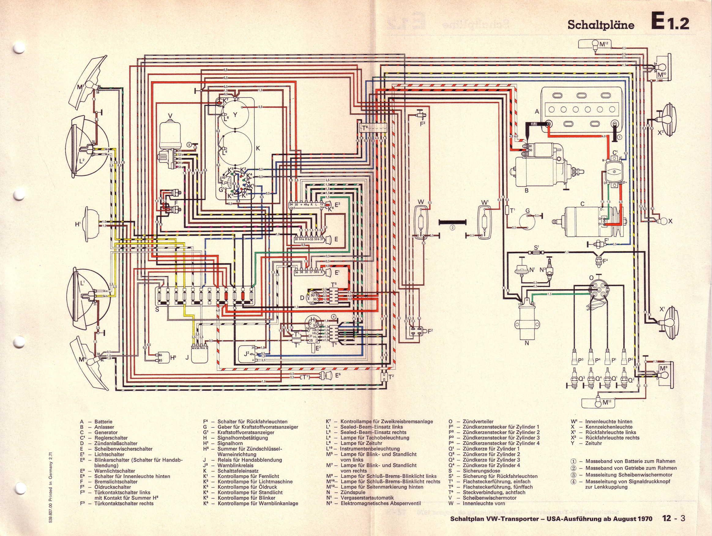 1971 Vw Bus Wiring Diagram 1968 Corvette Wiring Diagram Bege Wiring Diagram