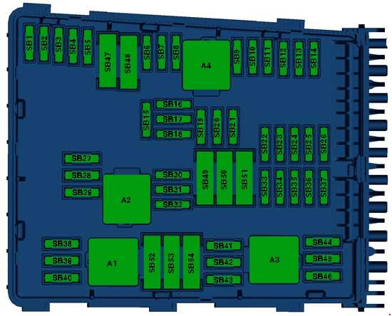 Fantastic 2010 2015 Volkswagen Passat B7 Fuse Box Diagram Fuse Diagram Wiring Cloud Overrenstrafr09Org