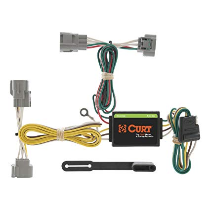 Stupendous Amazon Com Curt 55513 Vehicle Side Custom 4 Pin Trailer Wiring Wiring Cloud Domeilariaidewilluminateatxorg