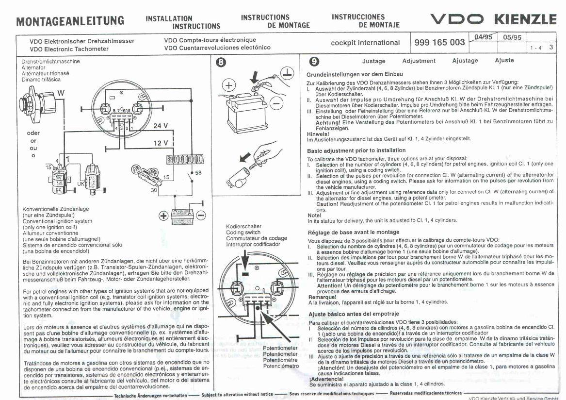 Kr 1377 Vdo Tachometer Wiring Diagram Moreover Vdo Volt Gauge Wiring Diagram Wiring Diagram