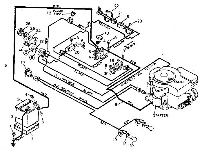 Addition Craftsman Riding Mower Wiring