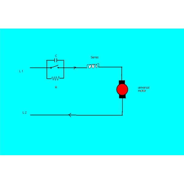 Fantastic How Speed Of A Universal Electric Motor Is Controlled Wiring Cloud Mousmenurrecoveryedborg