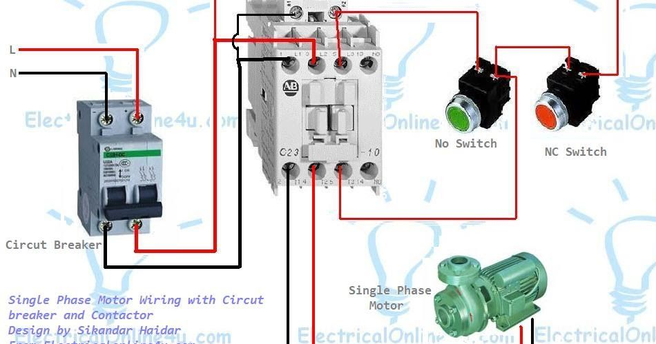 Swell Single Phase Motor Wiring With Contactor Diagram Woodworking In Wiring Cloud Xortanetembamohammedshrineorg