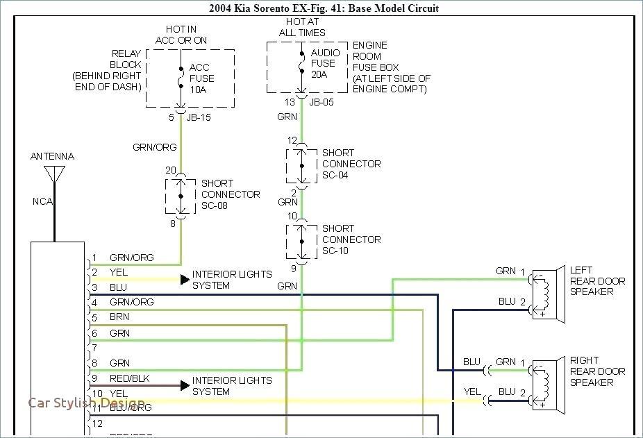 2004 hyundai santa fe stereo wiring diagram  pietrodavico