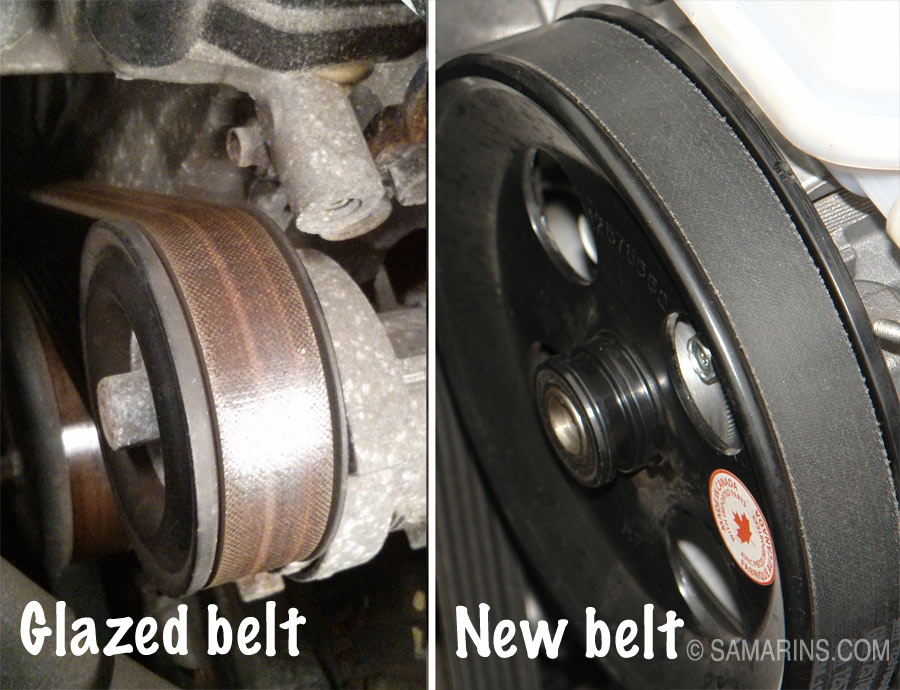 Strange Serpentine Belt Tensioner Problems Signs Of Wear When To Replace Wiring Cloud Eachirenstrafr09Org