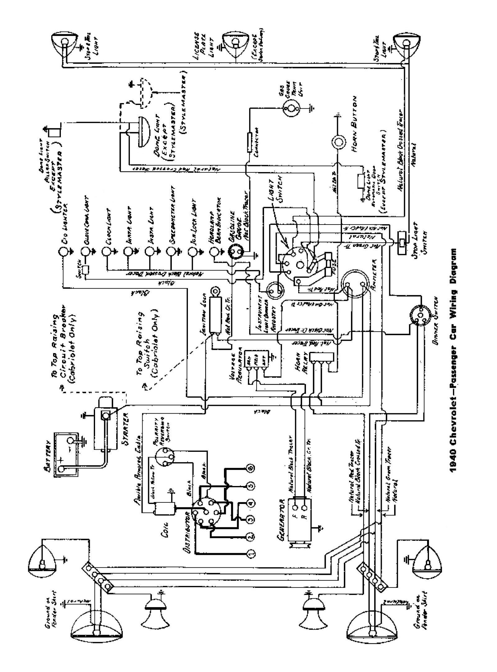 Ef 6302  Wiring Diagram For 1940 Chevy Business Coupe Get