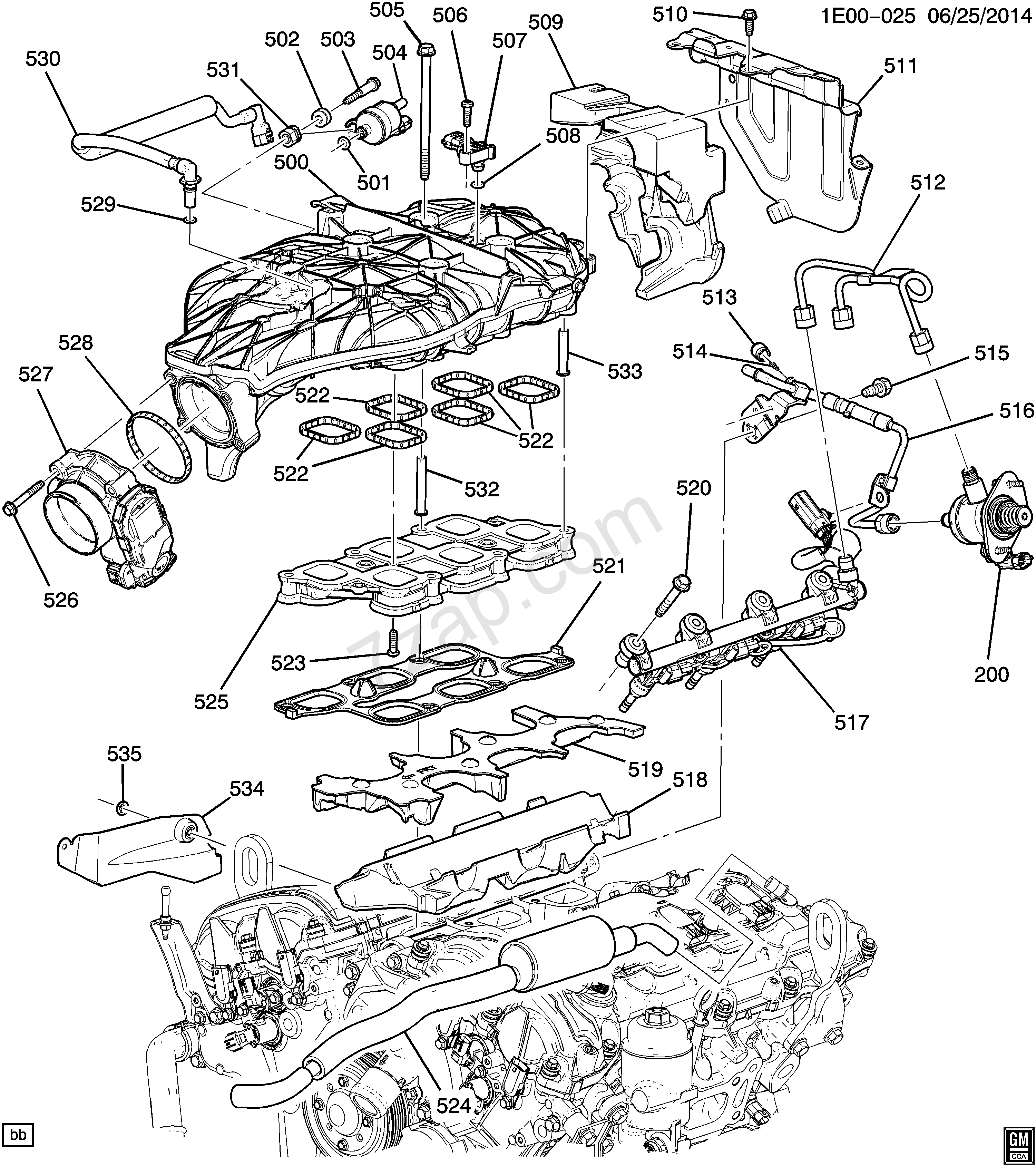 Ex 0838  2014 Chevy Camaro V6 Engine Diagram Wiring Diagram