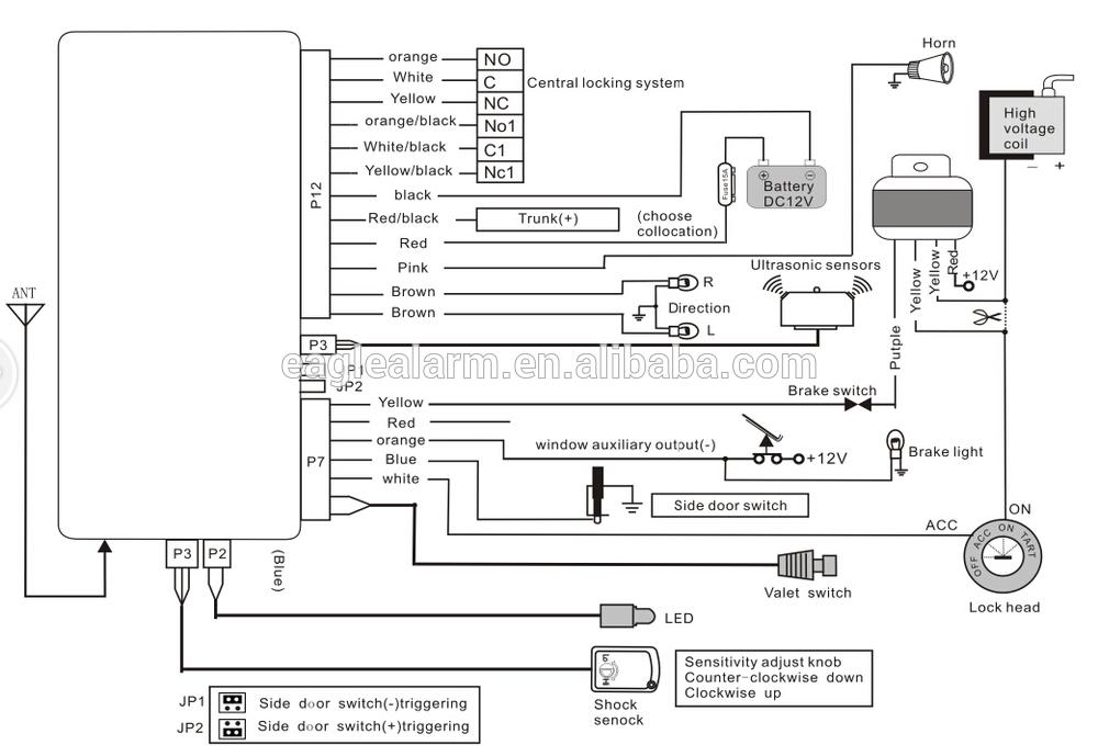 car keyless entry wiring diagram yg 4700  car alarm wiring diagram together with car keyless entry  yg 4700  car alarm wiring diagram