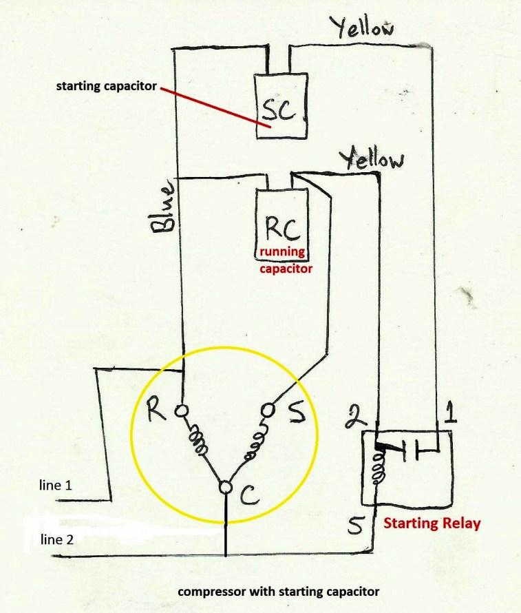 Fabulous Motor Run Capacitor Wiring Diagram Air Compressor Before You Call A Wiring Cloud Mousmenurrecoveryedborg