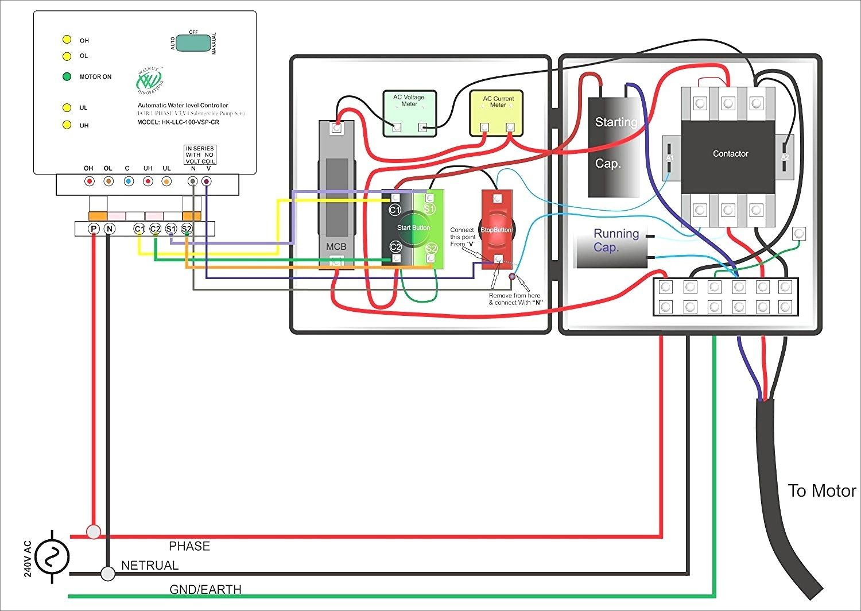 Incredible Single Phase Submersible Pump Starter Wiring Diagram Gooddy Org Best Wiring Cloud Gufailluminateatxorg