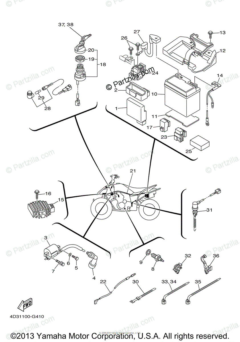 KS_6144] Wiring Diagram Yamaha Raptor Wiring Diagram Electrical Wiring  Diagram Download DiagramXtern Orsal Boapu Mohammedshrine Librar Wiring 101