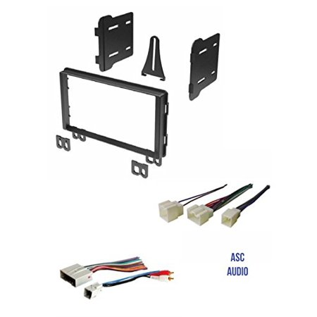 Groovy Double Din Car Stereo Radio Install Kit And Wire Harness For Ford Wiring Cloud Apomsimijknierdonabenoleattemohammedshrineorg