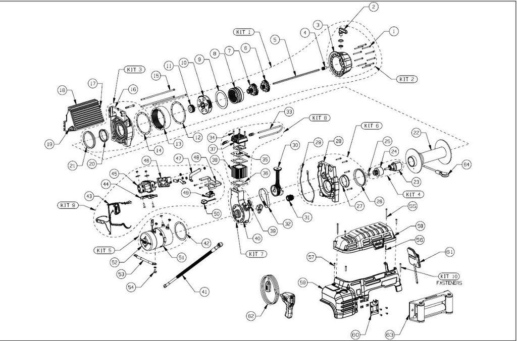 warn atv winch parts diagram tl 5758  warn winch wiring diagram also warn portable winch on 9 5  tl 5758  warn winch wiring diagram also