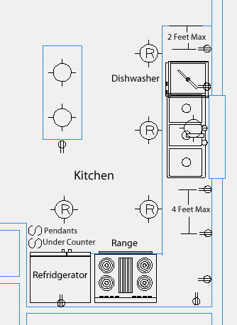 kitchen electrical design ab 6181  electrical plan kitchen wiring diagram  electrical plan kitchen wiring diagram