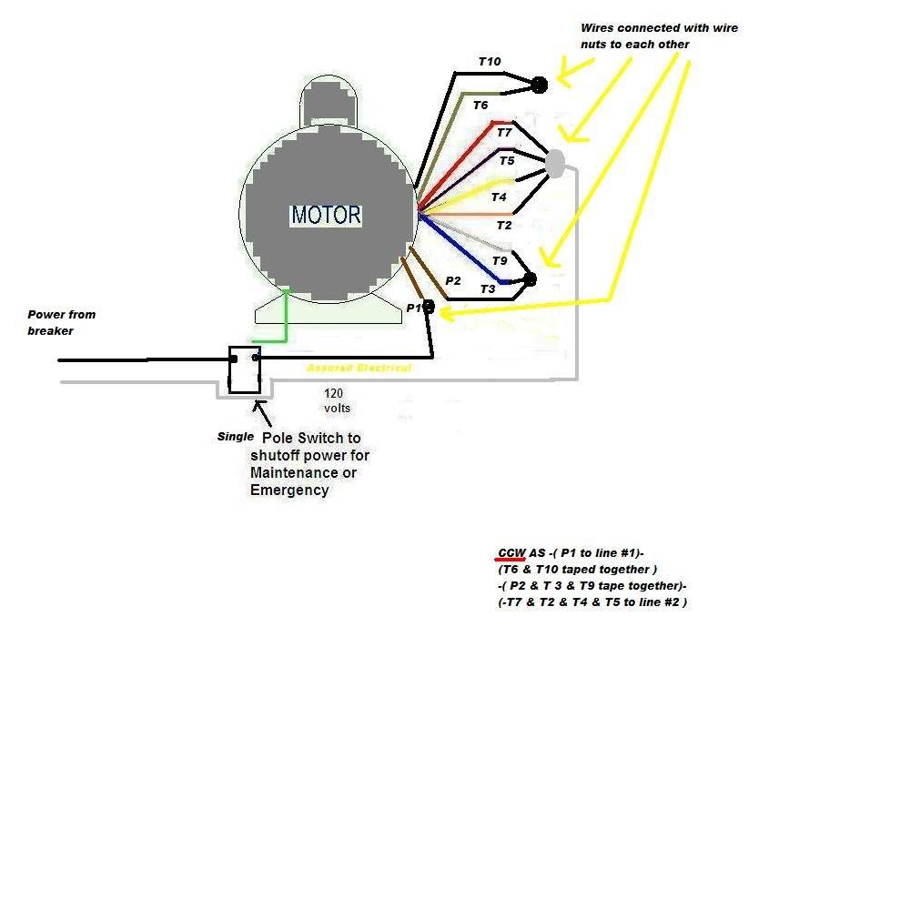 Wc 8111 Marathon Electric Motor Marathon Electric Motor Wiring Diagram Download Diagram