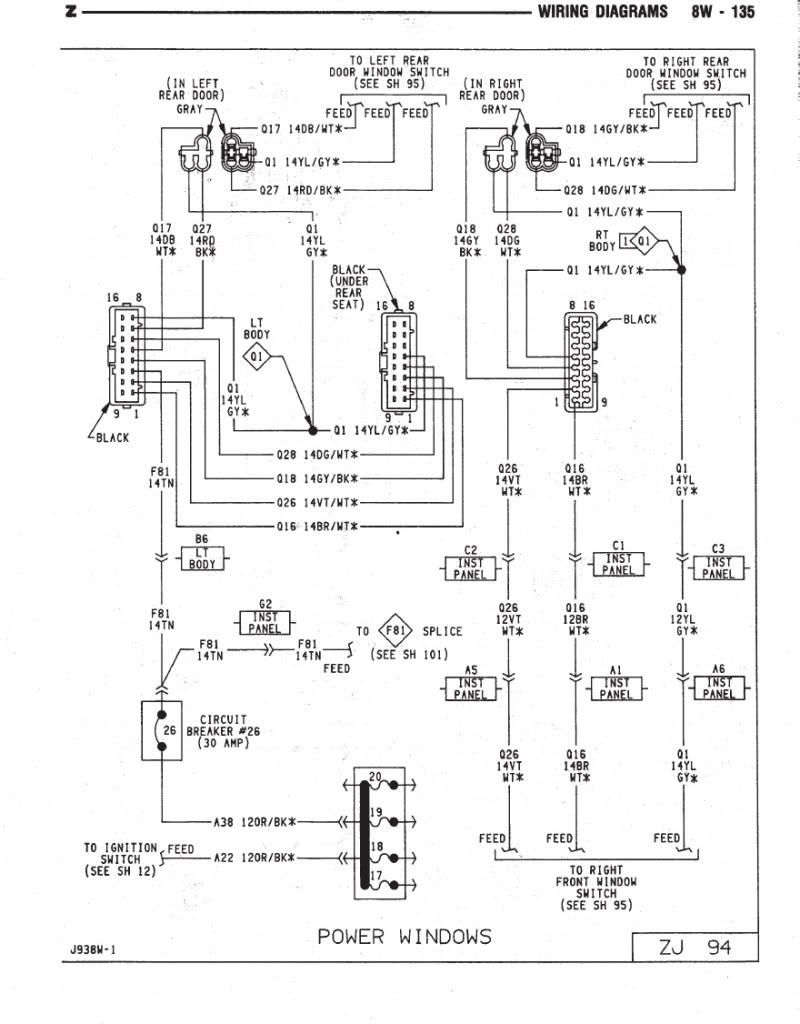 Awe Inspiring Wiring Diagram For 2004 Jeep Grand Cherokee Wiring Diagram Database Wiring Cloud Rineaidewilluminateatxorg