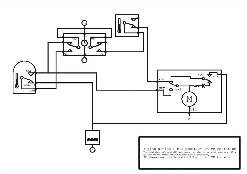 Central Heating Mid Position Valve Wiring Diagram