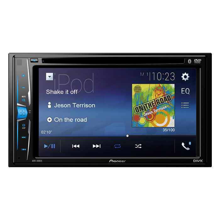 Magnificent Avh 200Ex Multimedia Dvd Receiver With 6 2 Wvga Display And Wiring Cloud Orsalboapumohammedshrineorg