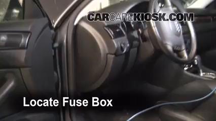 Incredible Interior Fuse Box Location 1995 1997 Audi A6 1996 Audi A6 2 8L V6 Wiring Cloud Hemtshollocom