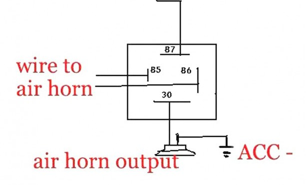 atv horn wiring - wiring diagrams database  laccolade-lescours.fr