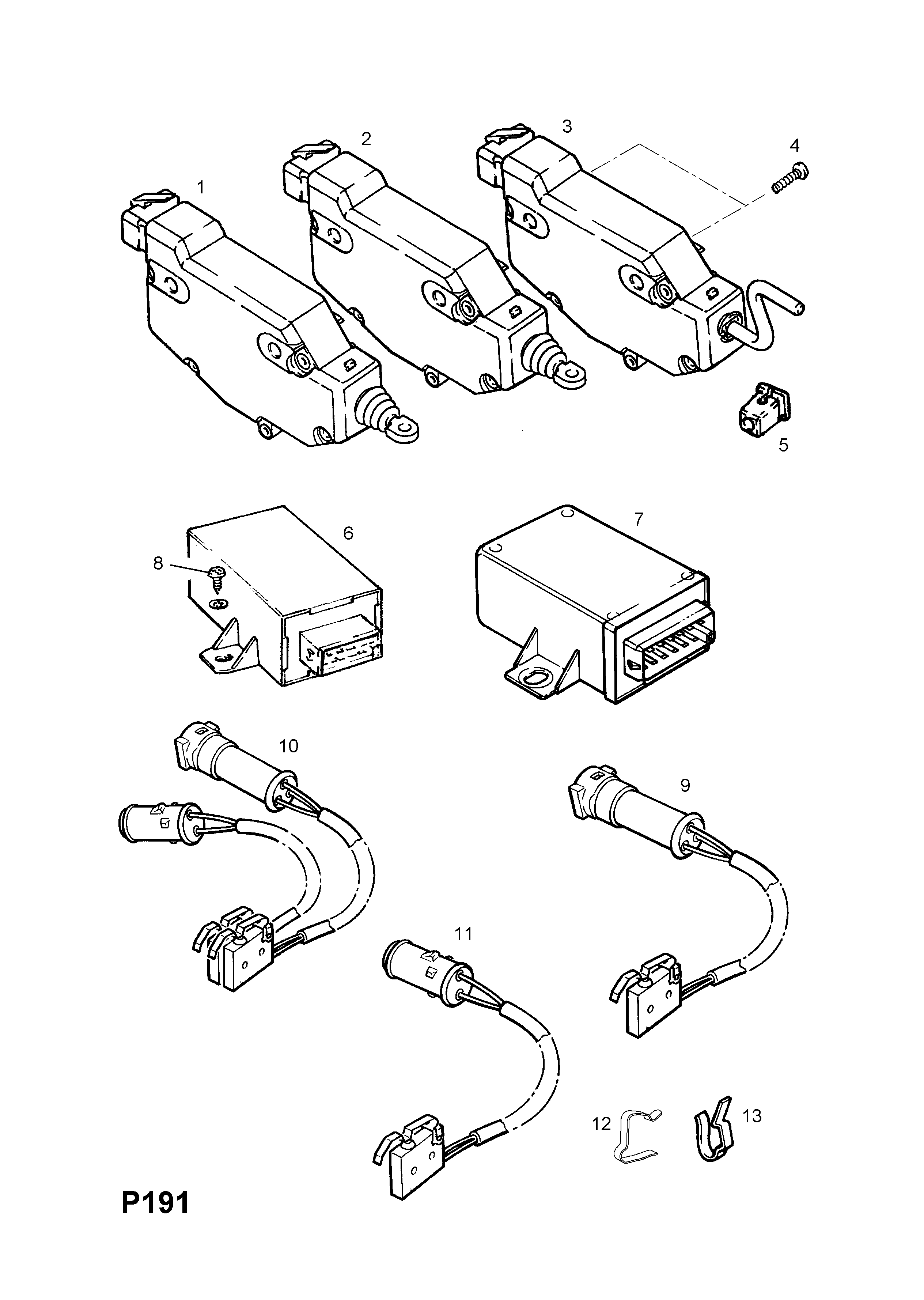 Vauxhall Astra F Wiring Diagram