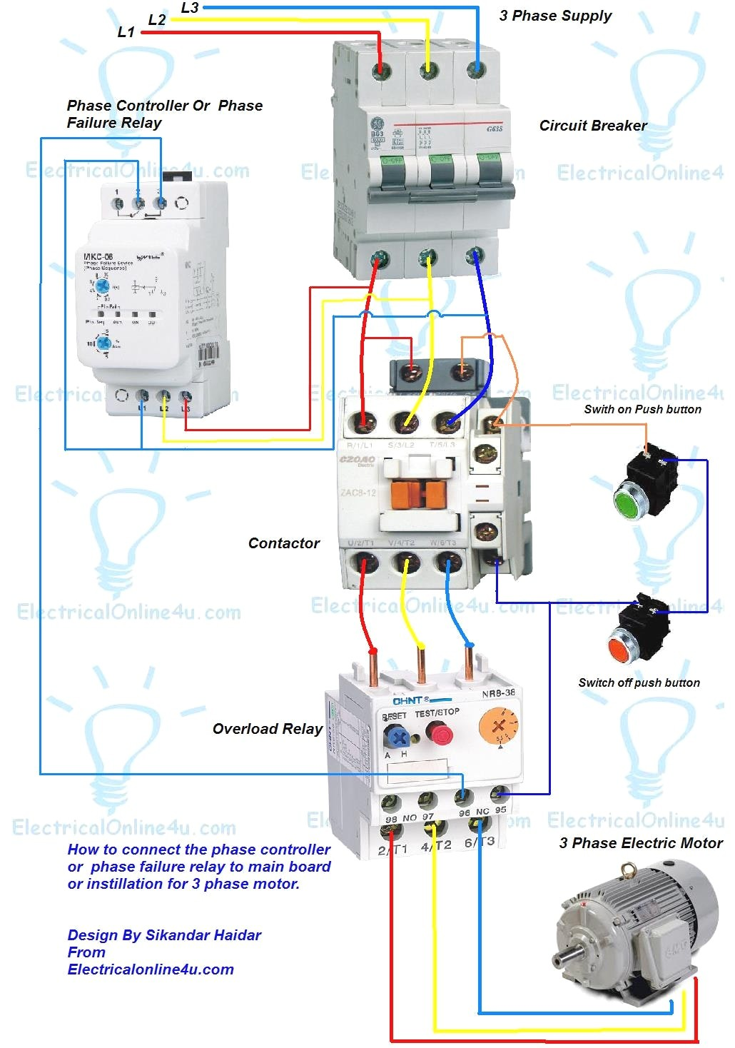 Ae 8121 Magnetic Contactor 1 Pole Relay Wiring Wiring Diagram