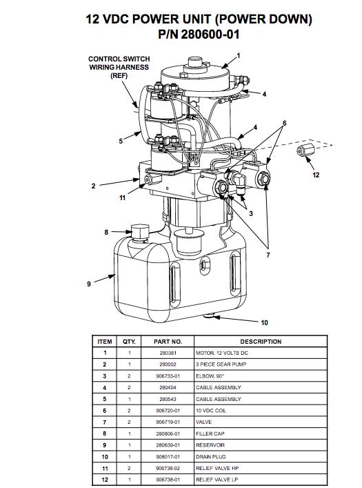 Pleasing Maxon Liftgate Power Unit 72 150Sa 280600 01 Liftgateme Wiring Cloud Rineaidewilluminateatxorg