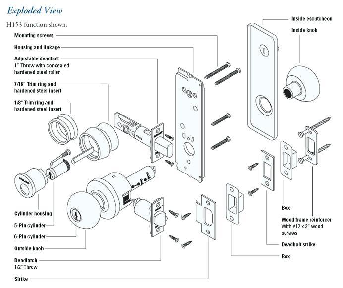 Tl 9759  Door Lock Parts Diagram Door Lock Parts Diagram