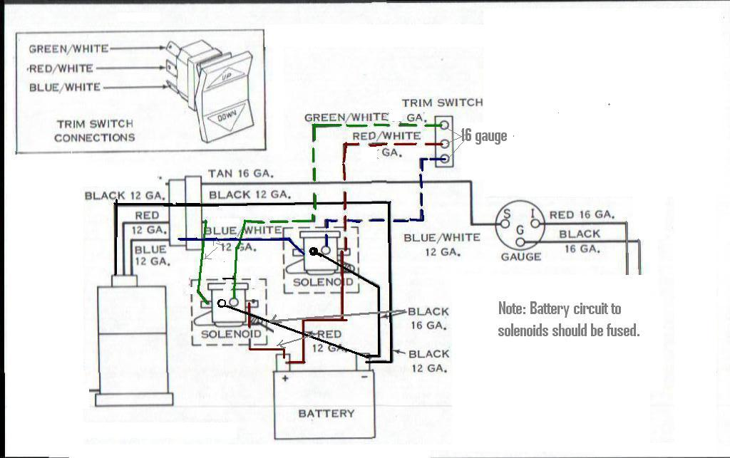 Volvo Penta Power Trim Wiring Diagram
