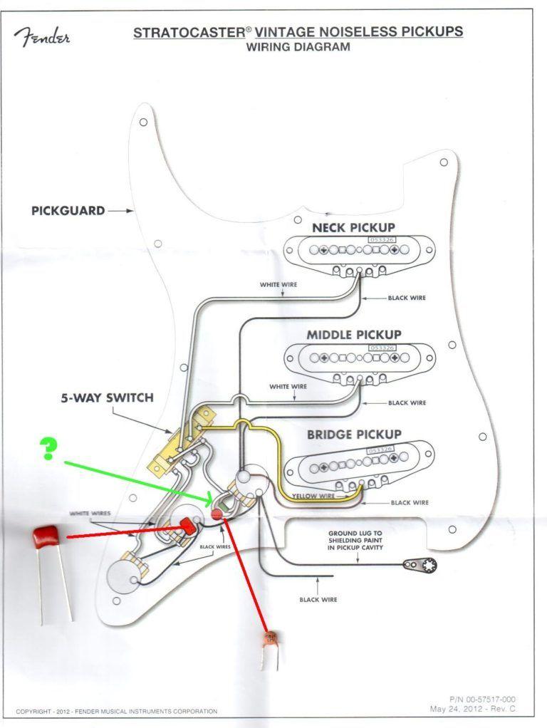 Wiring Schematic For Fender Stratocaster