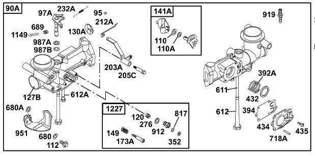 Sw 0719  Briggs And Stratton 5hp Carburetor Diagram Free Diagram
