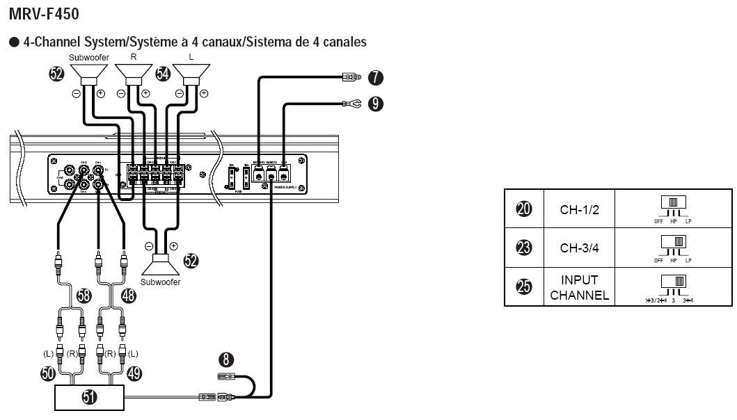 Alpine Type X Subwoofer Wiring Diagram