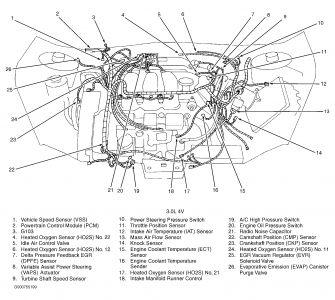 DD_5118] 99 Ford Taurus Engine Diagram