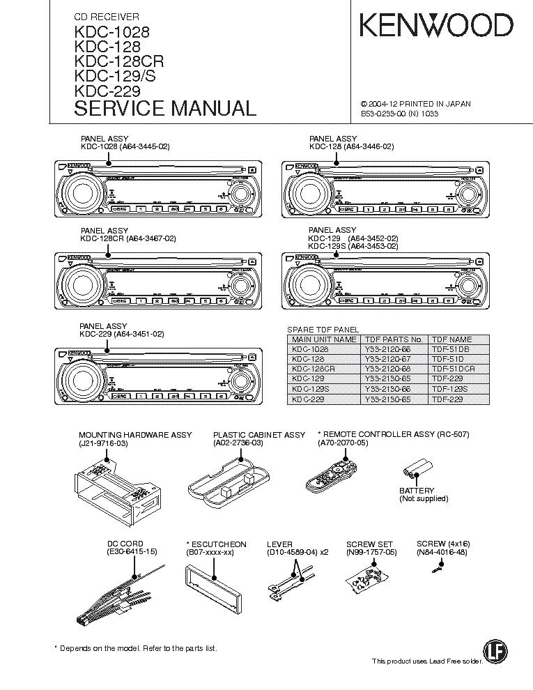 wiring diagram kenwood bt755hd  schematic wiring diagram