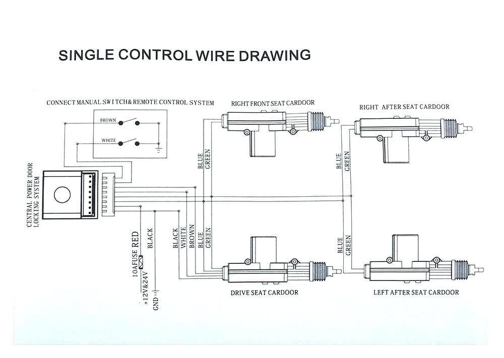 universal door lock actuator wiring diagram  wiring diagram