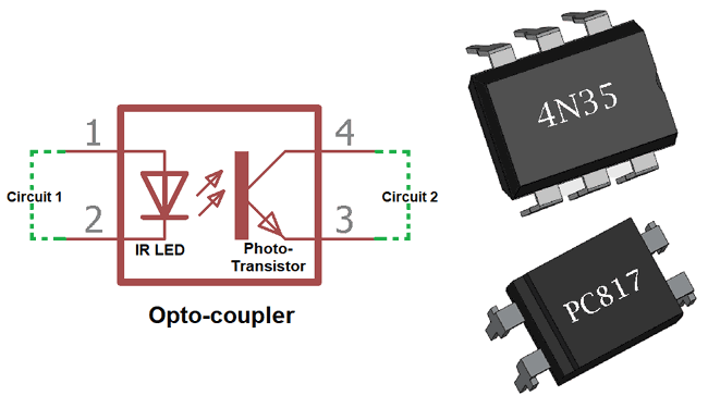 Marvelous What Is Optocoupler Its Types And Various Application In Dc Ac Circuits Wiring Cloud Cranvenetmohammedshrineorg