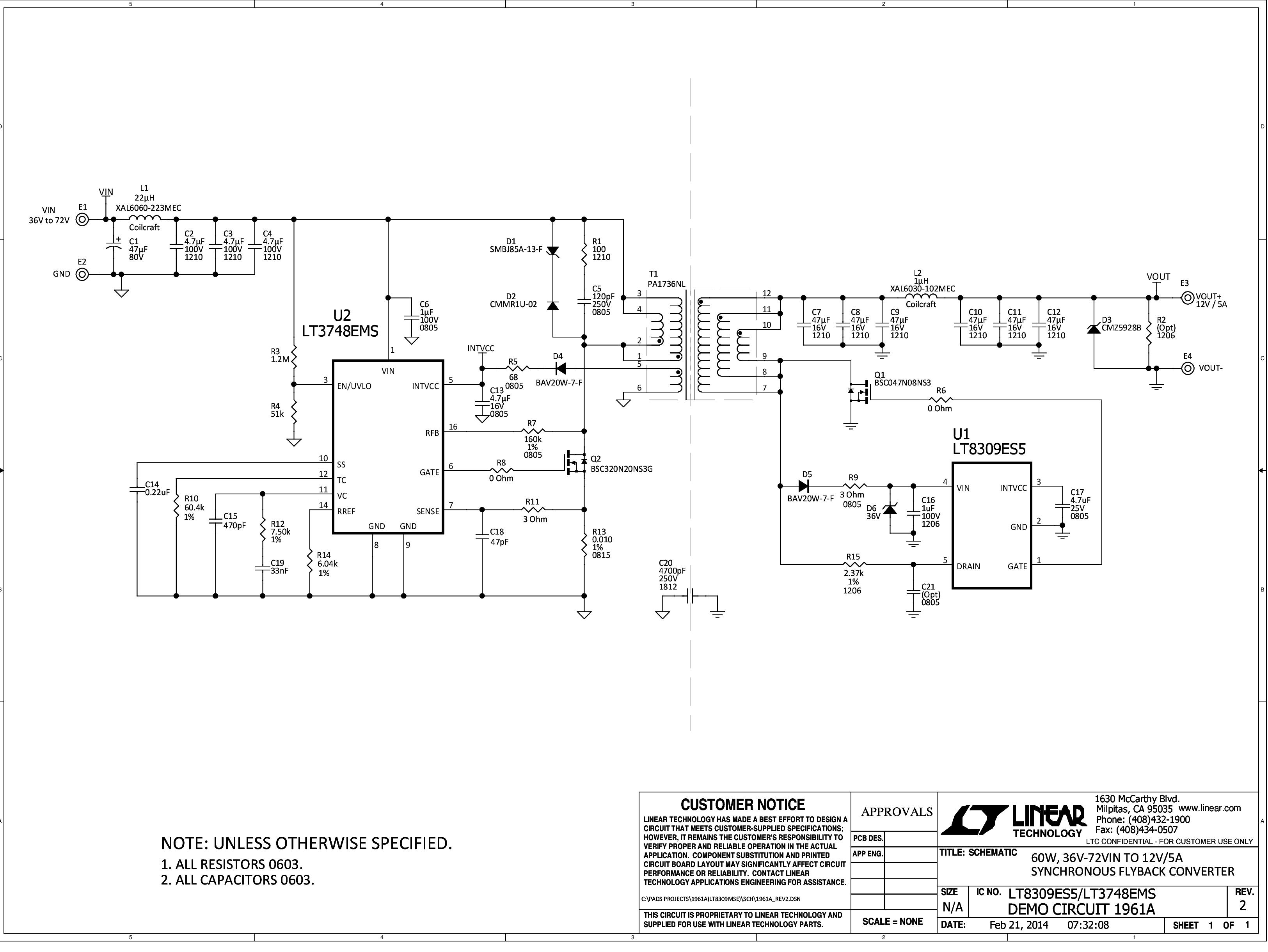 Fine 12 Volt Switching Power Supply Using Lt3748 Basic Electronics Wiring Cloud Inklaidewilluminateatxorg