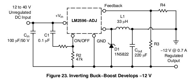 Surprising Negative Buck Converter All About Circuits Wiring Cloud Itislusmarecoveryedborg