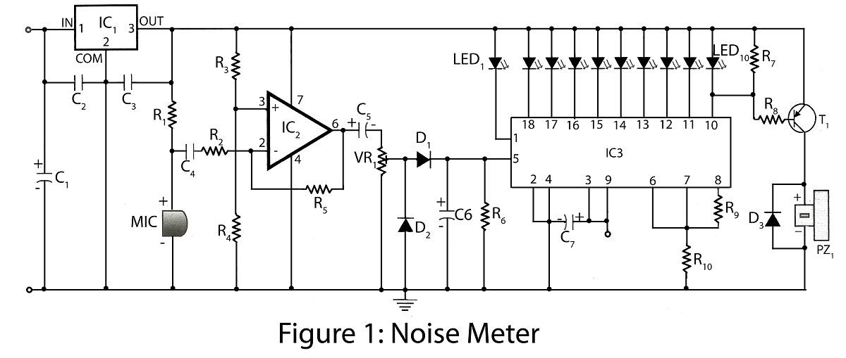 Miraculous Noise Meter Electronics Project Wiring Cloud Monangrecoveryedborg