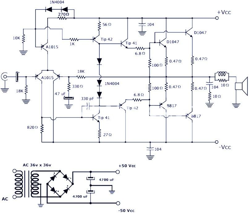 Fine 200W Power Amplifier Circuit Schematic Graphic Design In 2019 Wiring Cloud Onicaxeromohammedshrineorg