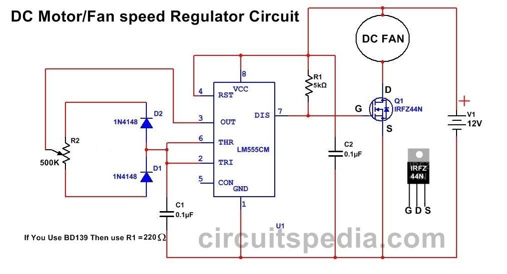dc motor controller schematic diagram wa 0219  pwm motor speed controller circuit using ic556 electronic  pwm motor speed controller circuit