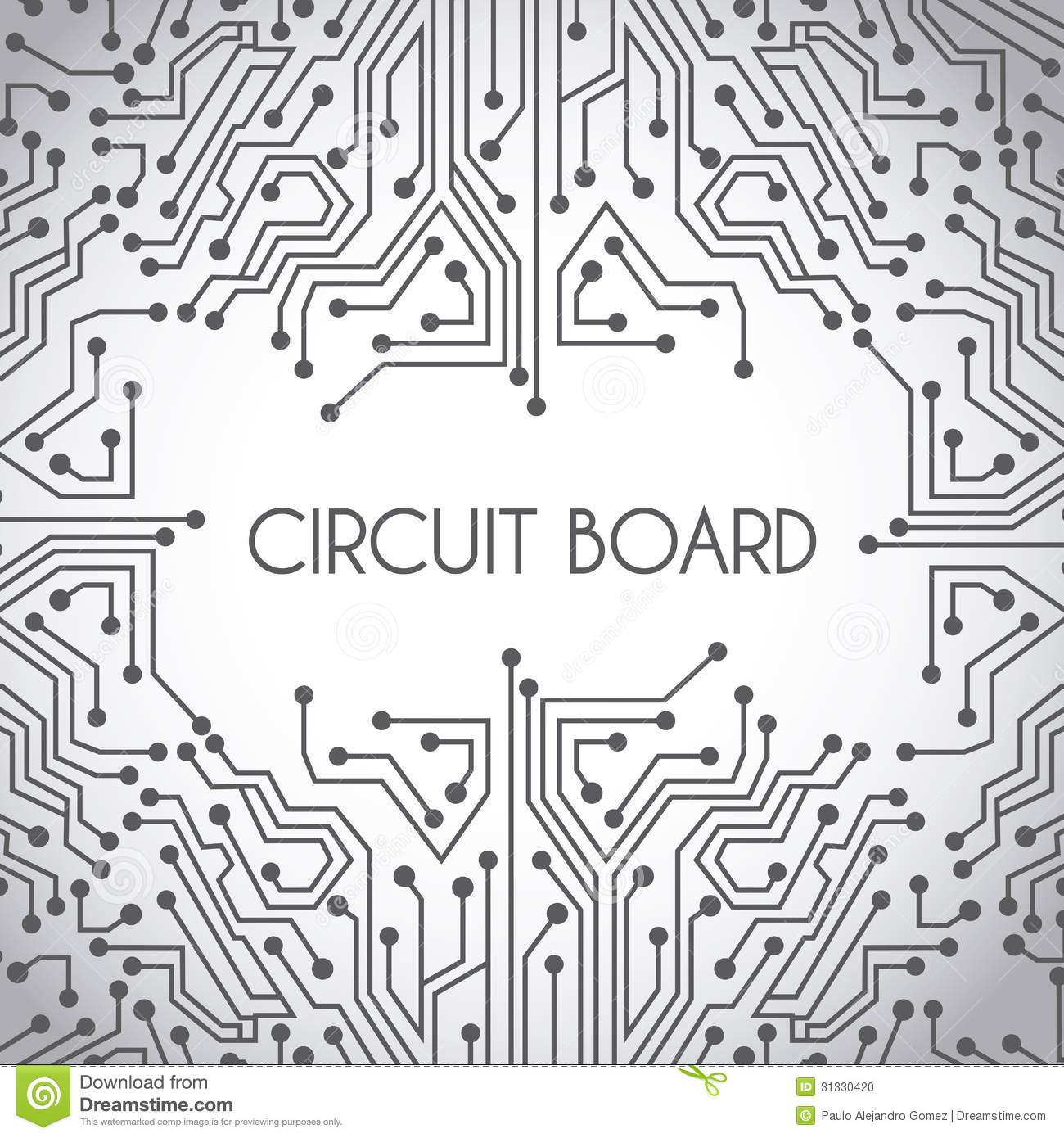 Amazing Circuit Board Design Stock Vector Illustration Of Microprocessor Wiring Cloud Apomsimijknierdonabenoleattemohammedshrineorg