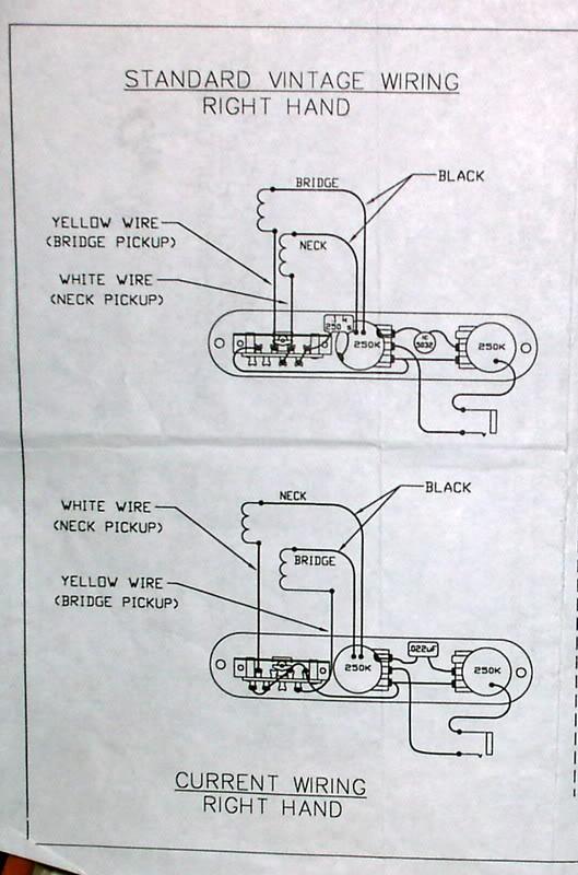 Af 1177 Fender 52 Reissue Telecaster Wiring Diagram Wiring Diagram