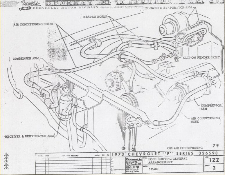 ao1574 67 camaro wire harness routing free diagram