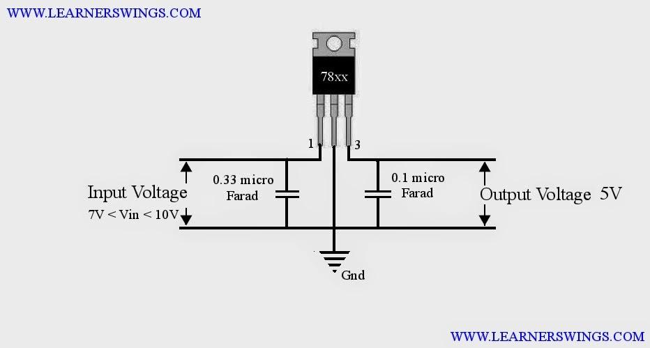 Phenomenal 7805 Voltage Regulator Circuit Basic Electronics Wiring Diagram Wiring Cloud Staixaidewilluminateatxorg