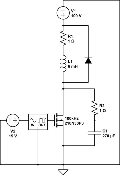 Pleasing Filter Voltage Spike In Mosfet Circuit Electrical Engineering Wiring Cloud Orsalboapumohammedshrineorg