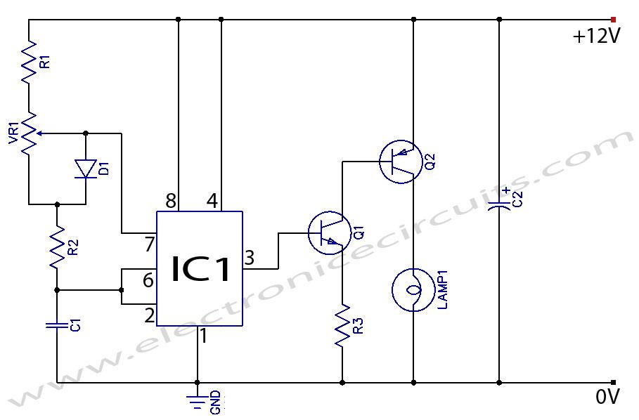 Pleasing Lcd Circuit Page 6 Light Laser Led Circuits Nextgr Circuit Diagram Wiring Cloud Licukaidewilluminateatxorg