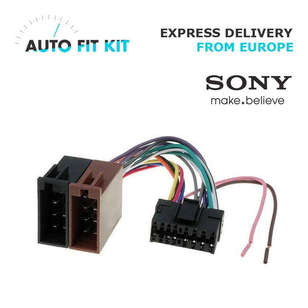 Pleasing Car Radio Wire Harness Wiring Iso Lead Car Hifi Radio Adaptereu Wiring Cloud Timewinrebemohammedshrineorg