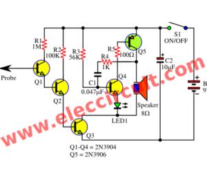 Pleasing Non Contact Ac Voltage Sensor Using Lm358 Circuit Diagram Basic Wiring Cloud Onicaalyptbenolwigegmohammedshrineorg